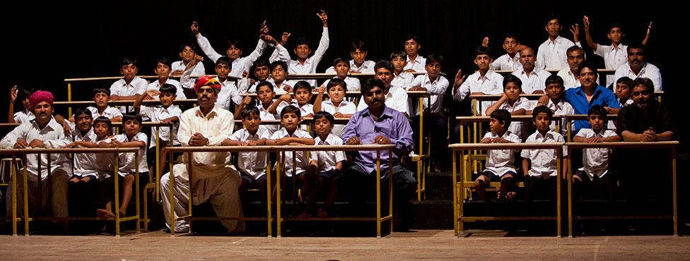 Manganiyar-Classroom