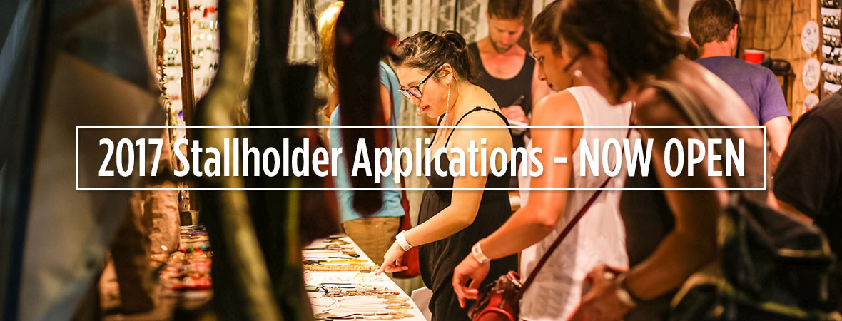 Stallholder-Applications