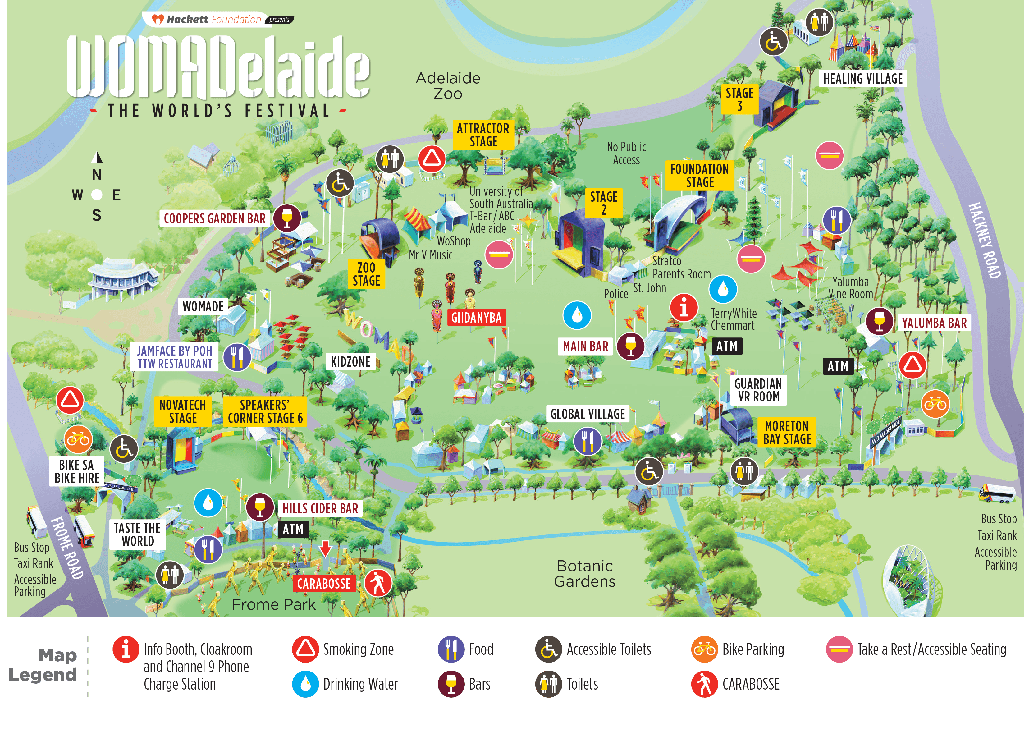 WOMADelaide A4 Map_Web