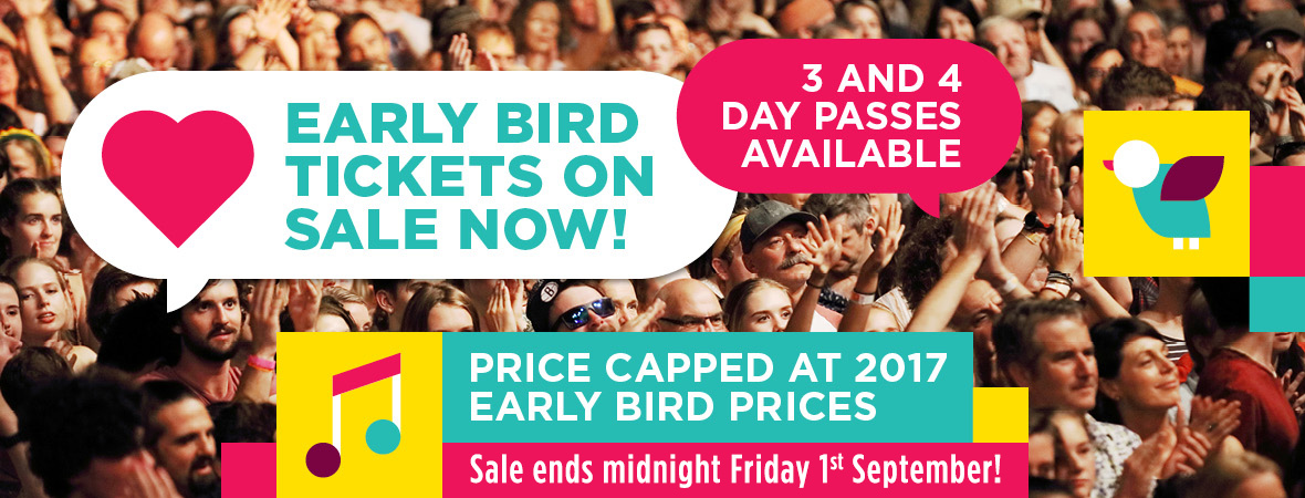 2018 Early Bird Tickets-Sale Ends 1 September